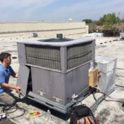 Air Conditioners installed on roofs are oftentimes neglected.