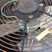 Wires used for reversing motor rotation are high voltage. We would NEVER leave wires like this.